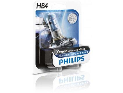 Žiarovka 12V HB4 55W P22d BlueVision ultra