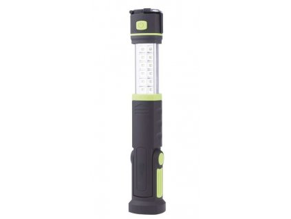 Emos LED svietidlo prenosné 220V/12V- LED SMD12+6-vysúvacie