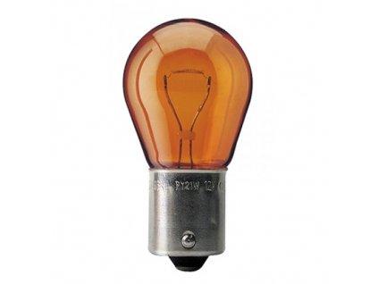 Autolamp 12V 21W BA15s PY21W oranžová
