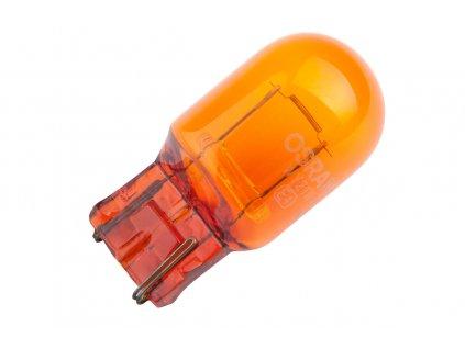 AUTOLAMP Žiarovka 12V 21W W3x16d celoskl.- oranžová