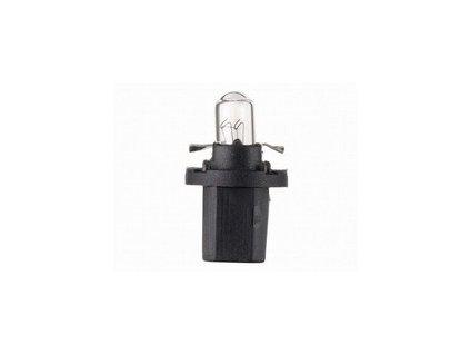 Autolamp 12V 1,2W B8,5d plastická pätica