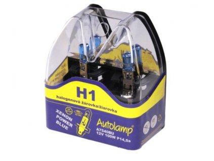 Autolamp H1/12V 100W P14,5s sada 2ks  sada 2ks
