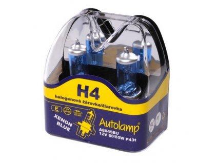Autolamp Xenon Blue H4/12V 60/55W P43t sada 2ks  sada 2ks