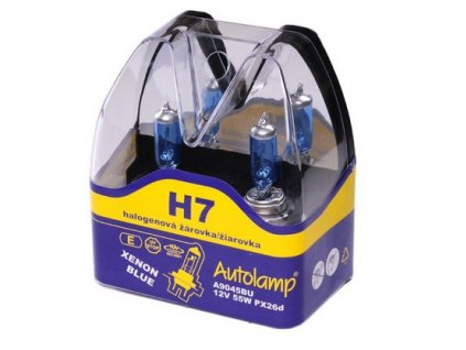 Autolamp Xenon Blue H7/12V 55W PX26d sada 2ks  sada 2ks