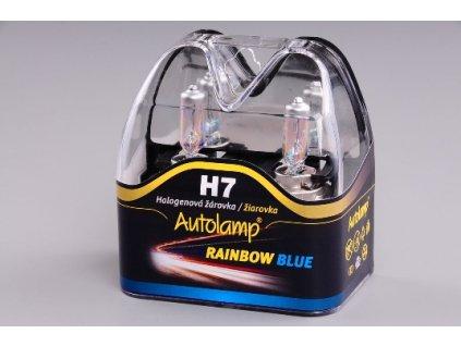 A-Žiarovka 12V 55W H7 Rainbow Blue- sada 2ks