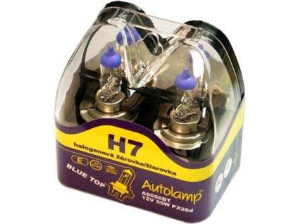 Autolamp 12V 55W H7 BlueTop -2ks sada