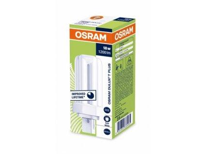 Osram Dulux T 18W/840 GX24D-2 studená biela