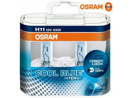 Osram Cool Blue Intense H11/12V 55W PGJ19-2