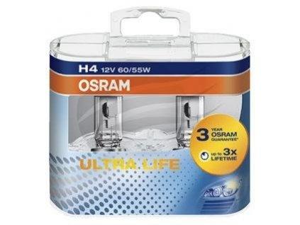 Osram Ultra Life H4/12V 60/55W P43t set 2ks