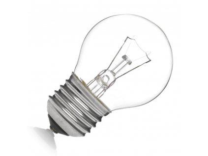 Žiarovka 240V 25W E27 iluminačná-číra 46x75mm otrasuvzdorná SAD'N