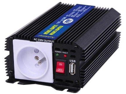 AUTOLAMP Menič napätia  12V/230V 300W+USB výstup