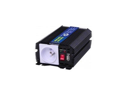 Menič napätia  24V/230V 300W+USB výstup