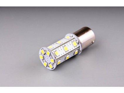 A-LED 6,3V-24V (P21W) Ba15s číra 24xLED