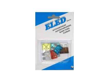 ELED Blister - Uni nožové poistky - 6ks