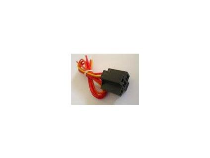 Držiak na  relé - 5-cestné s káblami- (6,3mm)