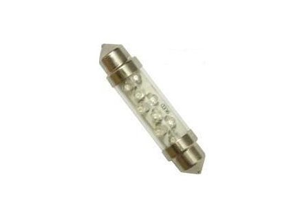 Autolamp LED 12V 10W SV10x41 C10W číra - sada 2ks