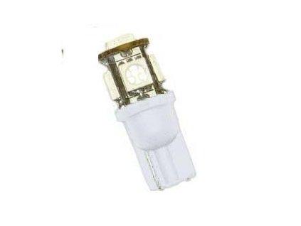 AUTOLAMP LED 12V (W5W) W2,1x9,5D oranž 5xSMD 2ks