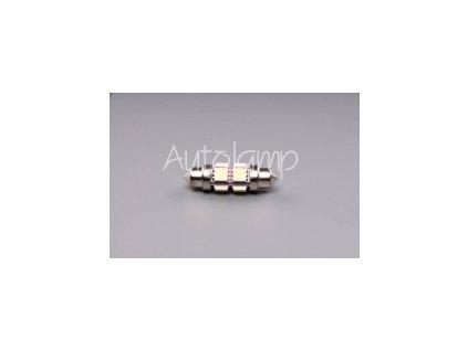 AUTOLAMP LED 12V (C10W) SV10x36 číra 360st