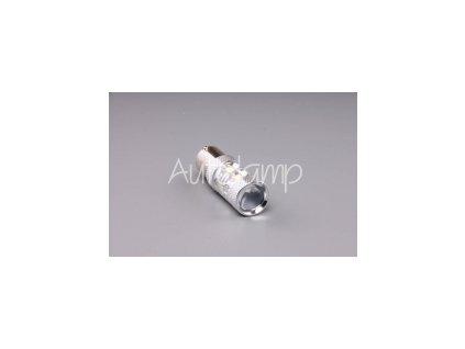 Autolamp LED 12V-24V 21W Ba15s PR21W červená 10x SMD Canbus