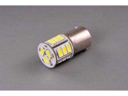 A-LED 12V-24V (R5W) Ba15s - číra 18xLED