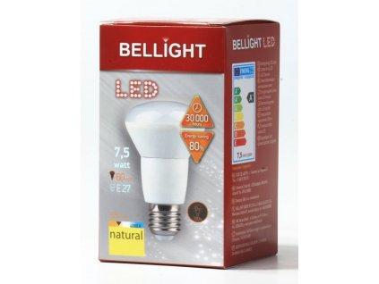 BELLIGHT LED  220-240V R63 7,5W E27 525lm neutrálna biela