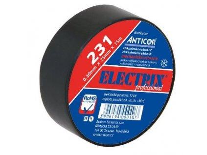ANTICOR Páska PE elektroizolačná  25mmX0,3mmX7,5m