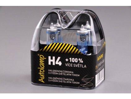 Autolamp H4/24V 75/70W P43t +100% svietivosť - sada 2ks
