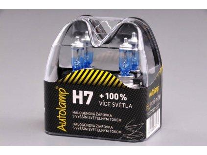 Autolamp H7/24V 70W Px26d +100% svietivosť - sada 2ks