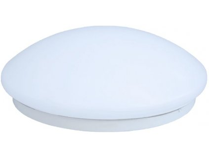 LED svietidlo oválne 175 - 265V 18W 4000K plast s pohybovým senzorom