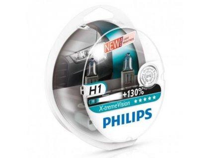 Automobilové žiarovky Philips X-tremeVision sú tie najjasnejšie, ktoré si môžete kúpiť. Svietia lepšie ako všetky ostatné automobilové žiarovky, majú o 130% vyšší jas a mimoriadny dosah lúča až 130 metrov. Takže vidíte ďalej, reagujete rýchlejšie.