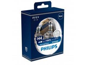 vyr 1037556a ziarovka h4 racingvision philips 150 12v 60 55w p43t 12342RVS2