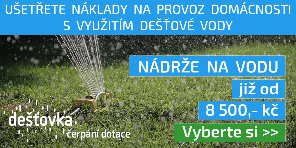 Využití dešťové vody
