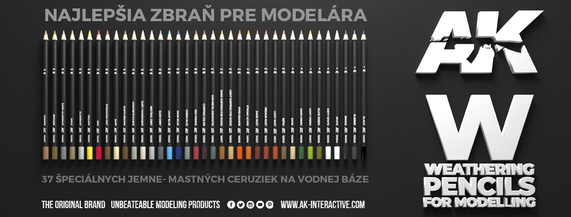 Weathering pencils