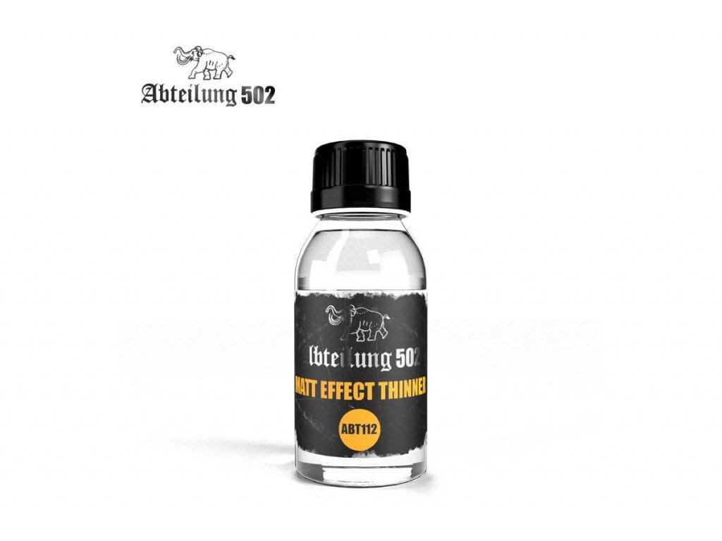 riedidlo s matnym ucinkom matt effect thinner abt112