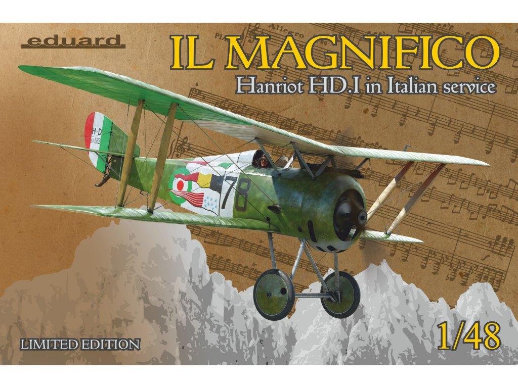 IL MAGNIFICO Hanriot HD. I v talianských službách