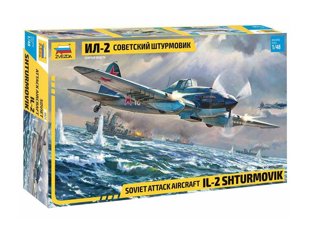 Model Kit letadlo 4825 IL 2 Stormovik 1 48 a109312532 10374