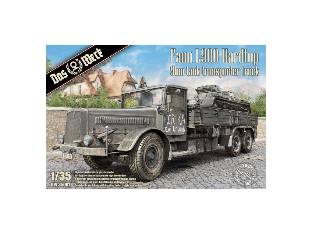 Faun L900 Hardtop 9ton Tank Transporter Truck