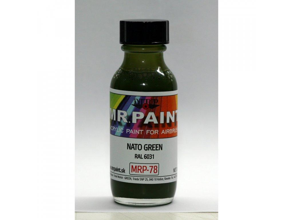 MRP-078 NATO Green (RAL 6031)