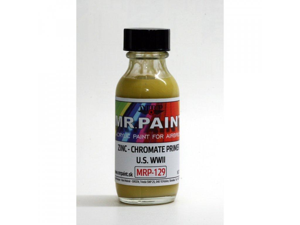 MRP-129 WWII US - Zinc-Chromate primer