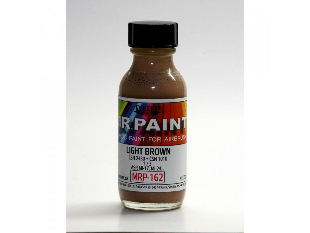 MRP-162 Light Brown (ČSN 2430 + ČSN 1010) 1:3
