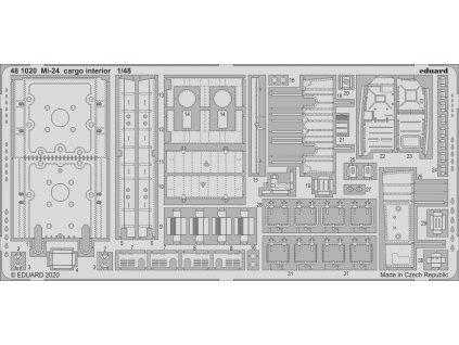 Mi-24 cargo interior 1/48
