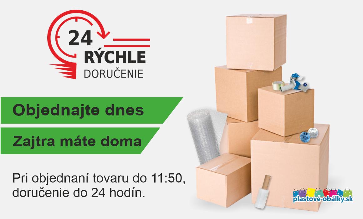 Rýchle doručenie tovaru do 24 hodín