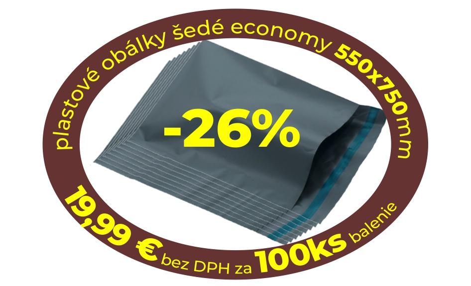Akcia 26% obálky