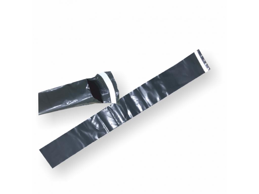 Plastové obálky šedé 60µm ECONOMY EXTRA dlhé