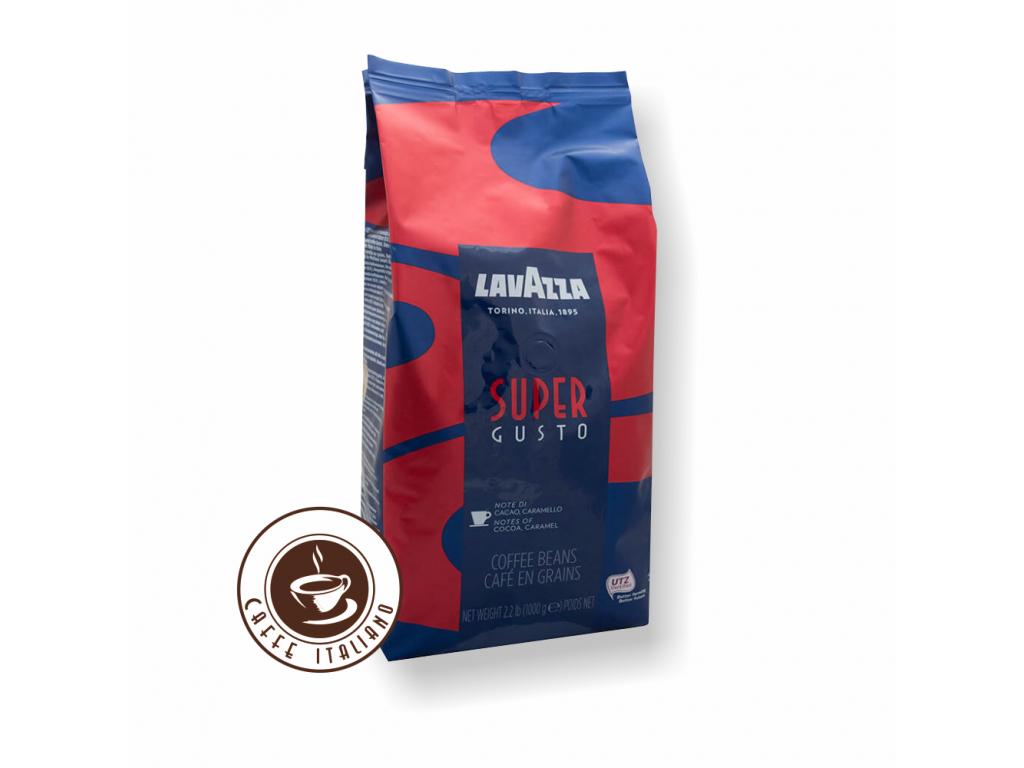 Lavazza Super Gusto zrnková káva 1kg