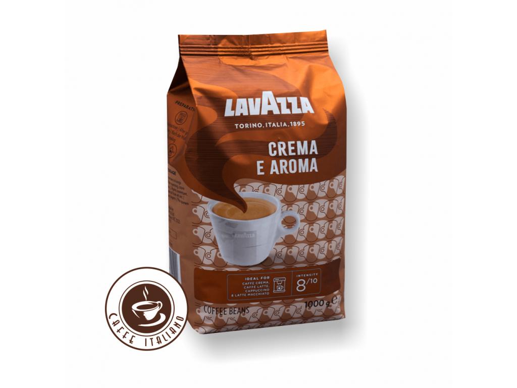 Lavazza Caffe Crema e Aroma zrnková káva 1 kg