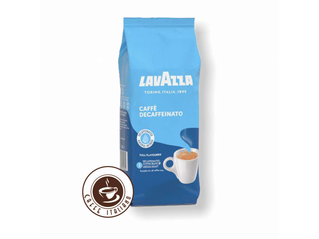 Lavazza Decaffeinato bezkofeínová zrnková káva 500 g