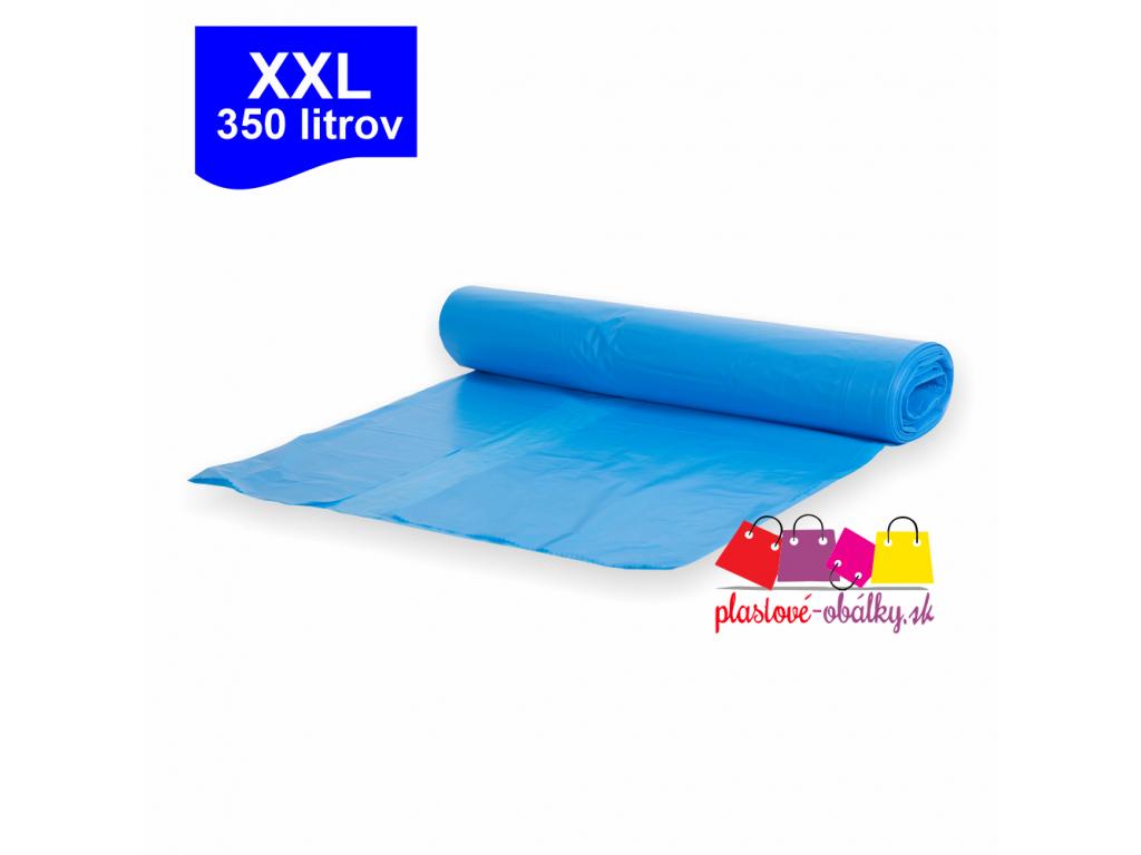 350l XXL Vrecia na odpad modré rolované