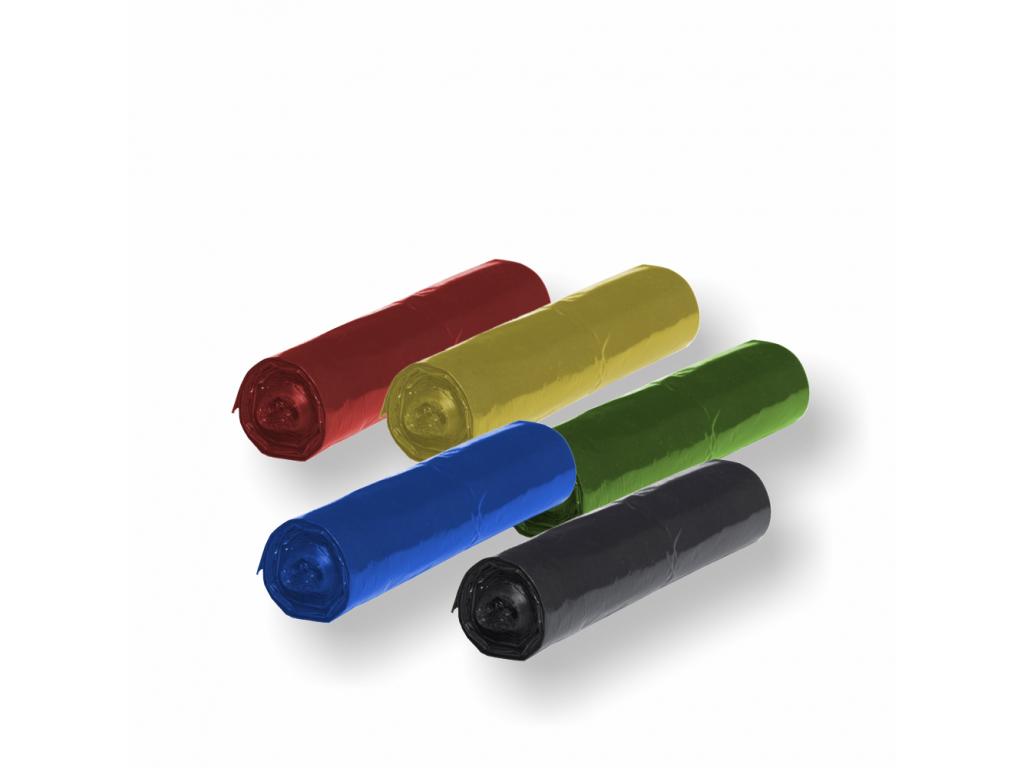 120l Vrecia ECONOMY farebné rolované 30μm