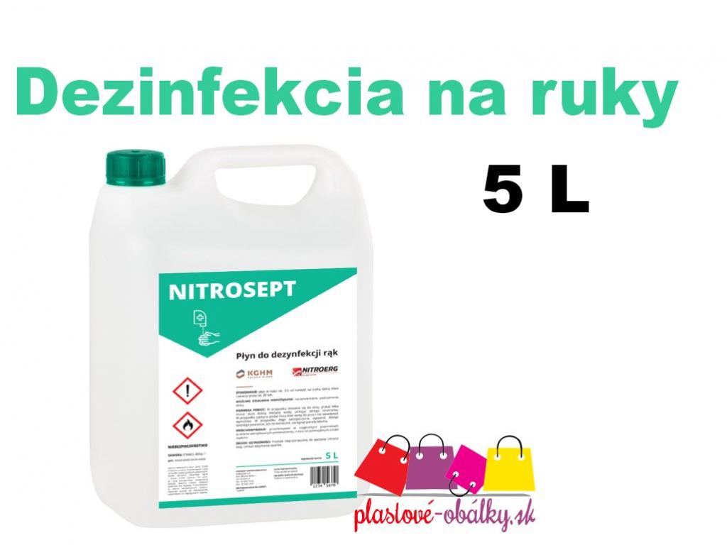 Dezinfekcia 5L